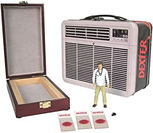 Dexter: 3 3/4-Inch Figure with Blood Slide Box in Tin Tote