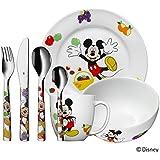 WMF 1282959974 Kinderbesteck Set 7 Mickey Mouse