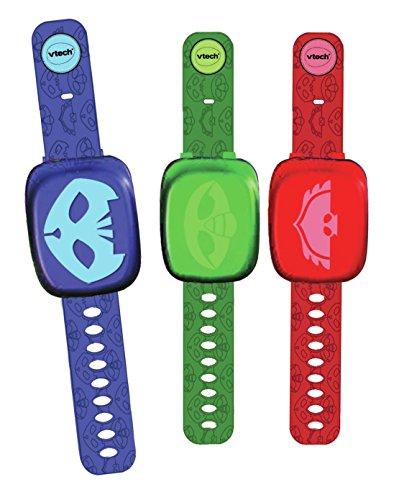 VTech Les Pyjamasques - Montres interactives assorties - Electrónica para niños, 3 año(s), Niño/niña, 7 año(s), CR2450, 50 mm
