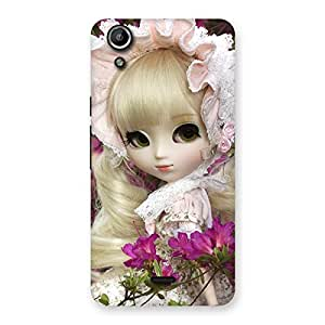 Cute Looks Of Angel Doll Multicolor Back Case Cover for Micromax Canvas Selfie Lens Q345