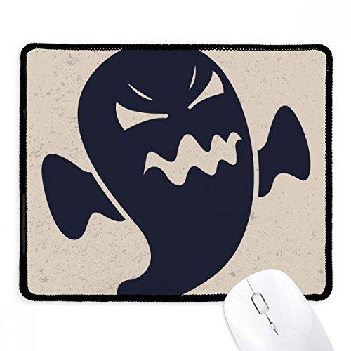 DIYthinker Verärgerter Halloween-Geister Griffige Mousepad Spiel Büro Schwarz Titched Kanten Geschenk