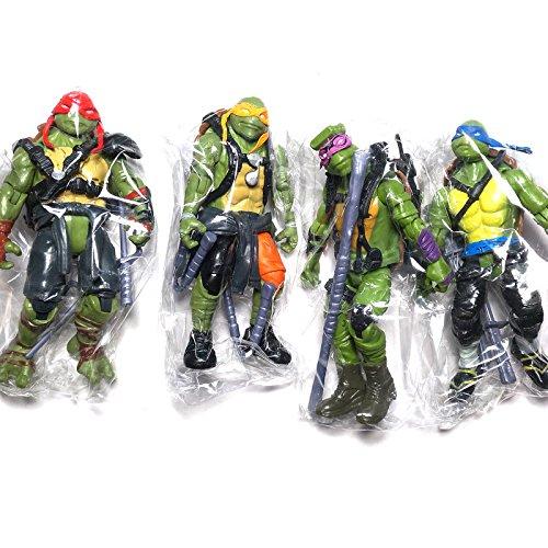 ONOGAL Leonardo Raphael Donatello Michelangelo Ninja Turtles Actionfiguren 120 mm 4712
