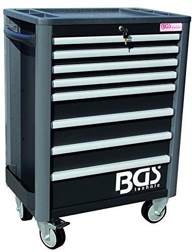 BGS 4111 Werkstattwagen PROFI, 8 Schubladen, leer