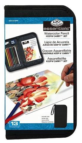 Royal & Langnickel Keep N' Carry Watercolour Pencil Set