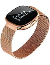 Reloj Inteligente Smartwatch con Bluetooth Fitness Tracker Pulsera Actividad Inteligente Podómetro Reloj Deportivo con Podómetro,