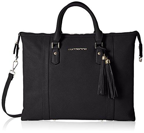 FornarinaTRES JOLIE - Bolsa de Asa Superior Mujer , color Negro, talla 30x28x18 cm (B x H x T)