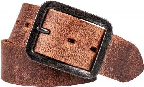 SDV unisexe en cuir ciré, largeur : 45 mm - Marron - 100