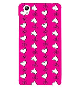 PrintVisa Designer Back Case Cover for Vivo Y55L :: Vivo Y55 (design nice Arrangement Creative modern)
