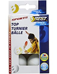 Mejor deporte 3 estrellas mesa de bolas del torneo - blanco