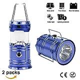 Best lanternes rechargeables - Aurora France Lot de 2 Lampe Camping Rechargeable Review