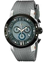 MULCO Men's MW5-3219-425 Prix Tire Analog Display Swiss Quartz Grey Watch