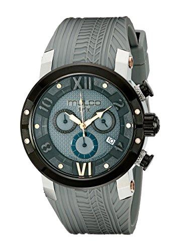 Mulco MW5-3219-425 - Reloj de pulsera hombre, Silicona, color Gris