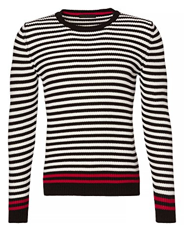 TRU TRUSSARDI Uomini Pullover in maglia nero 48/S
