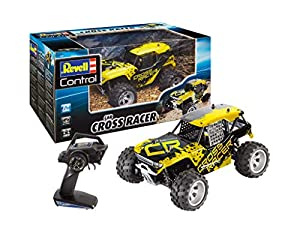 Revell Control- Buggy Cross Racer Juguetes a Control Remoto, Color Amarillo (24467)
