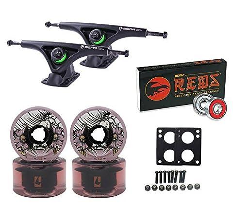 TGM Skateboards Bear Trucks Globe Wheels Bones Bearings Longboard Combo