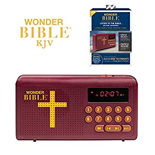 Wonder Bible - The Talking King James Bible Audio Player, As Seen on TV (one size)