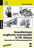 Grundwissen englische Grammatik - 9./10. Klasse: Materialien in 2 Differenzierungsstufen