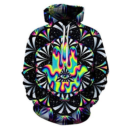 sa von Brizbazaar Art 3D Hoodies Männer Hoodie Herbst Sweatshirt Unisex Pullover Neuheit Jacken Männlich Trainingsanzug Marke Mantel, XL ()