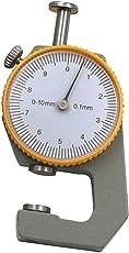 0-10mm Sheet Metal Leather Pocket Thickness Gauge Measurement Flat Head