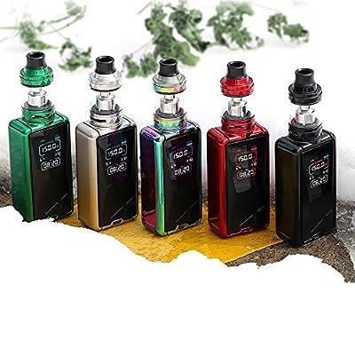 Authentisches Eleaf Tessera 150W TC Kit 3400mAh Ello TS 2mL Elektronische Zigaretten Kit (Blendend) mit PEACEVAPE 18650 Batterie USB Ladegerät von Eleaf