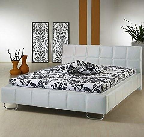 Design Ameublement - Lit design Sofia Blanc