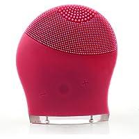 BlueBeach® Silicona Eléctrico Limpiador Facial Lavadora de Cara Machine USB Recargable Masajeador Facial Limpiador de Poros / Piel