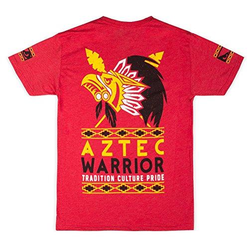 Bad Boy da uomo Aztec Warrior t-shirt Red