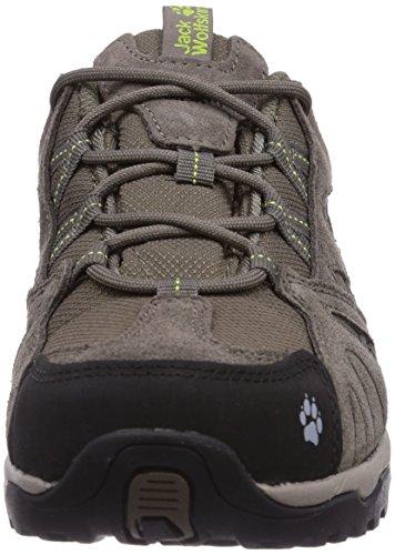 Jack Wolfskin  VOJO HIKE TEXAPORE WOMEN, Chaussures de randonnée femme Beige (Parrot Green)