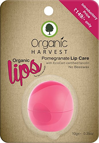 Organic Harvest Pomegranate Lip Care 10 Gm
