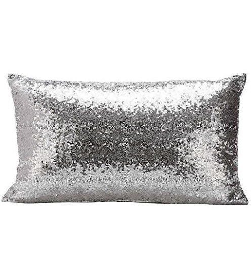 sannysis-funda-de-cojn-almohada-decoracin-lentejuelas-30-x-50cm-plata