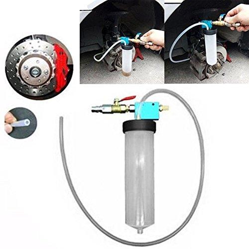 Swiftswan Auto Bremsflüssigkeits-Ersatz-Werkzeug-Pumpen-Öl-Entlüfter-Leere Austausch-Ausrüstung (Farbe: milchiges Weiß)