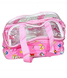 Kuber Industries Travelling Bag, Multi Purpose Bag, Baby Bag In Imported Material (11*5*9 Inches)