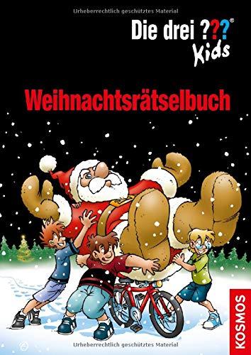 Die drei ??? Kids Weihnachtsrätselbuch