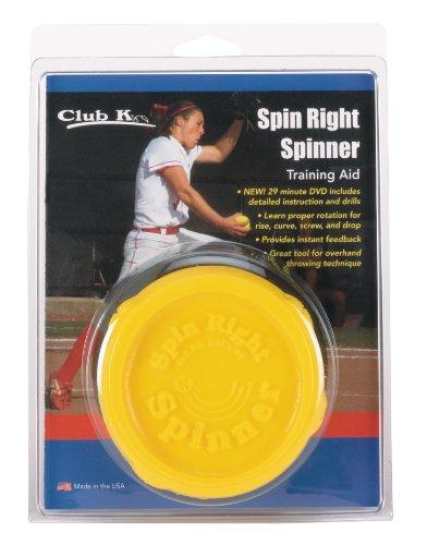 Markwort Club K Spin Right Spinner Softball Training Aid, Yellow Test