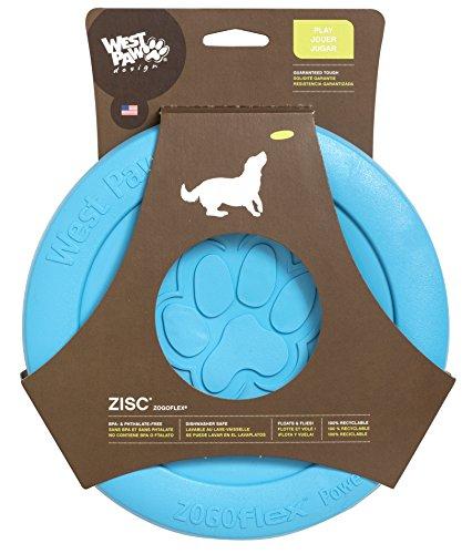 West Diseño de pata de zogoflex zisc garantizada rígida Frisbee perro...