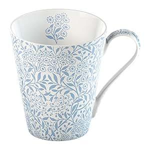Creative Tops V&A Michaelmas Fine Bone China Mug in a Gift Box, Blue