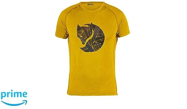 Fj/ällr/även Mens F81512 Abisko Trail Print T-Shirt