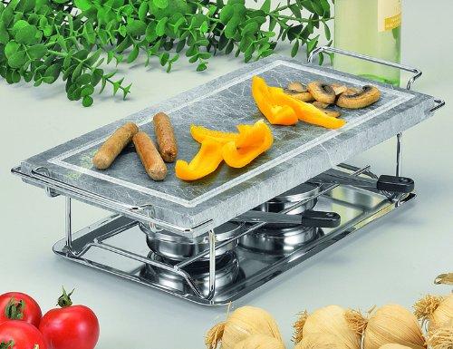 Gourmet grill 66510 plancha para cocinar a la piedra for Platos faciles para cocinar