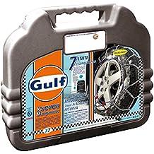 """Gulf 76016 """"X7"""" Cadenas de nieve 7 mm para coche, Talla 110, Primera calidad Homologación TUV y GS ÖNORM"""
