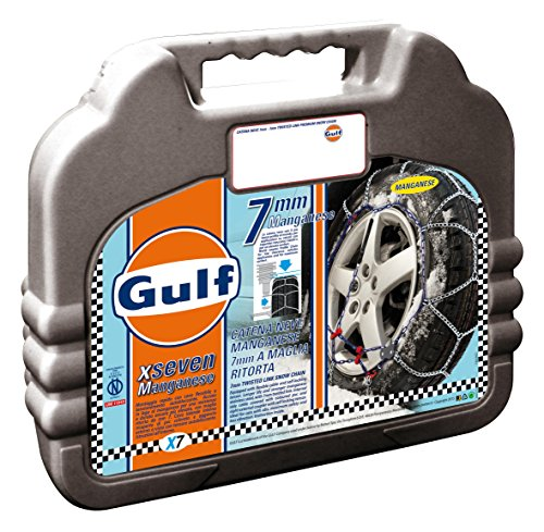 Gulf 76015 Chaines à Neige pour Voiture, 7 mm, Taille : 100