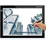 ESYNiC Mesa de Dibujo A4 LED Tablet con 3 Tipos de Luminosidad Ajustable para Diseñador de la Plantilla Artista del Tatuaje Dibujo y Foto etc