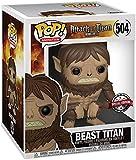POP Funko Attack on Titan 504 Beast Titan Super Size Special Edition