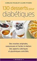 130 desserts pour diabétiques