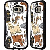 Head Case Designs Cocker Race De Chien Modèle 7 Étui Coque Hybride pour Samsung Galaxy S7 edge