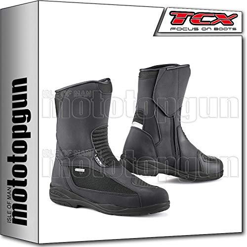 TCX Scarpe Stivali Moto 7123G Explorer Evo Gore-Tex Nero tg 36/3,5