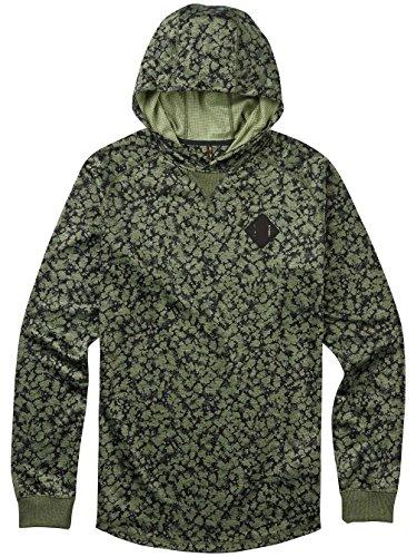 Burton Felpa Uomo con cappuccio CAPTION po rifle green moss