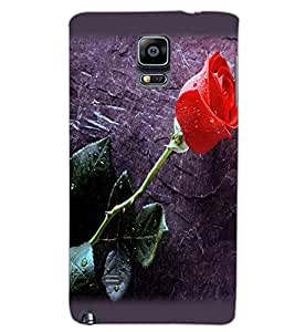 SAMSUNG GALAXY NOTE EDGE ROSE Back Cover by PRINTSWAG
