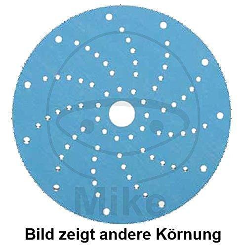 Schleifscheiben Klett 150 K120 325 Multihole blau