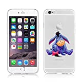 Disney Winnie l'Ourson & amis Coque souple en TPU pour Apple iPhone 6/6S & 6+/6+ .s, plastique, Eeyore, APPLE IPHONE 6/6S