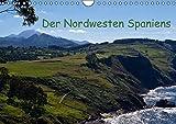 Der Nordwesten Spaniens (Wandkalender 2016 DIN A4 quer): Meine Perspektiven (Monatskalender, 14 Seiten) (CALVENDO Orte) - Andreas Schön
